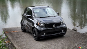 2016 smart fortwo coupe First Drive
