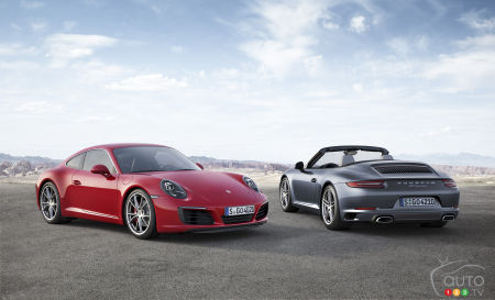 New 2017 Porsche 911 Carrera models coming soon to Canada!