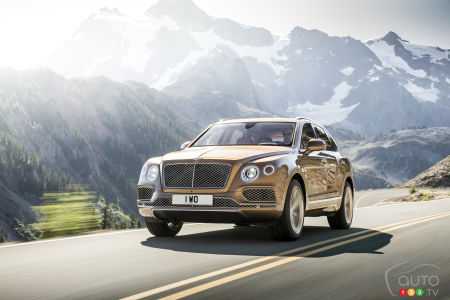 Frankfurt 2015: Bentley Bentayga set to make global debut at last