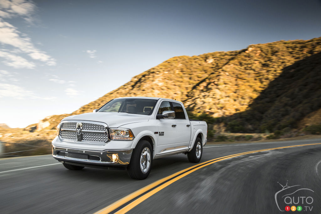 Fiat-Chrysler recalls 1.5 million Ram trucks in North America