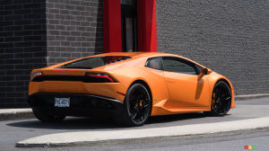 Lamborghini Huracán leaves no one indifferent