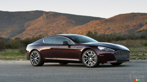 2015 Aston Martin Rapide S First Drive