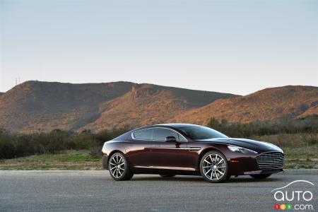 Track Time In The Aston Martin Rapide S Car Reviews Auto - Rapide aston martin