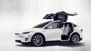 Tesla Model X crossover unveiled at last!
