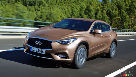 All-new 2017 Infiniti QX30 lineup announced for North America