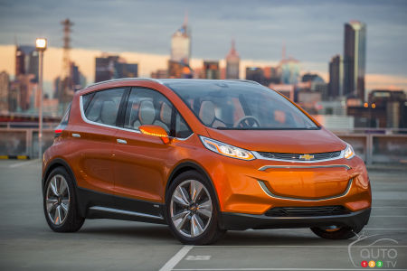 Chevrolet Unveils Affordable Long-Range Bolt EV Electric Car