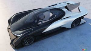CES 2016: Faraday Future finally presents FFZERO1