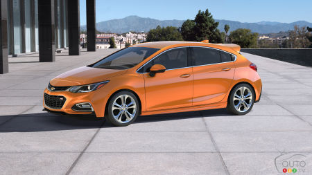 Meet the all-new 2017 Chevrolet Cruze Hatchback!