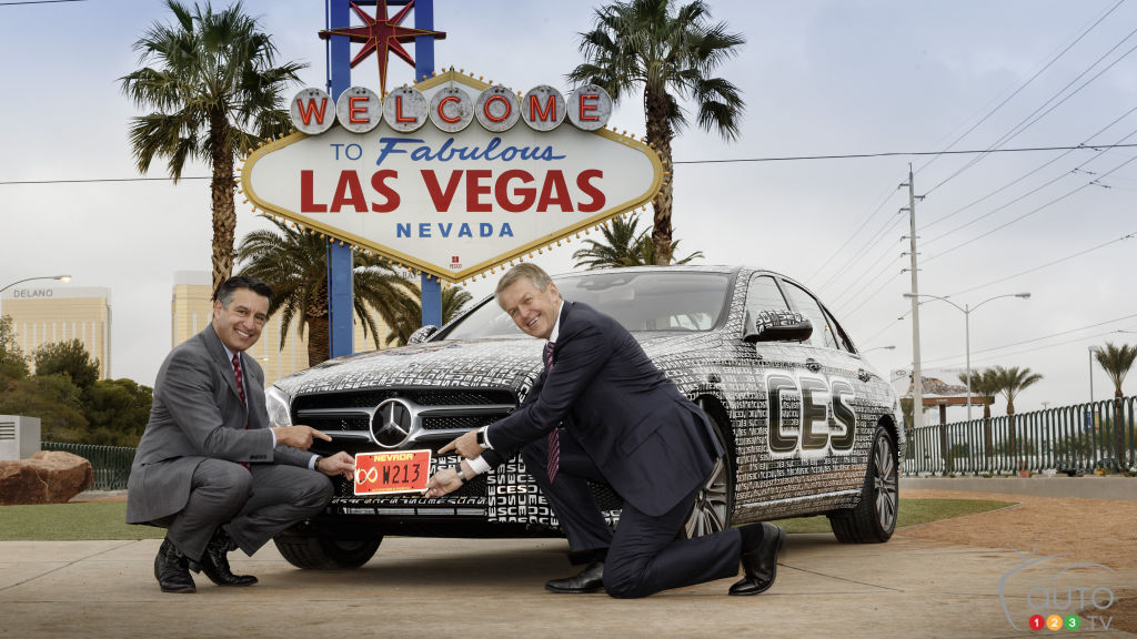 Mercedes E-Class Self-Driving Cars Given Green Light in Nevada