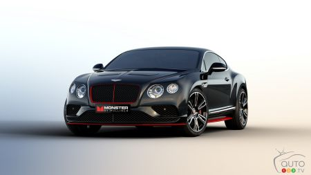 "Bentley, Monster Team up for ""Monster by Mulliner"" Ltd Ed Continental"