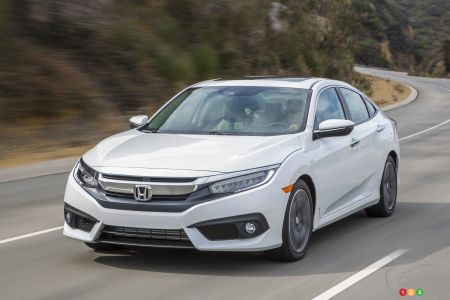 2016 Honda Civic wins North American Car of the Year Award