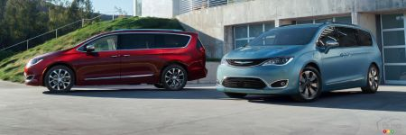 Detroit 2016 : adieu Chrysler Town & Country, bonjour Pacifica!