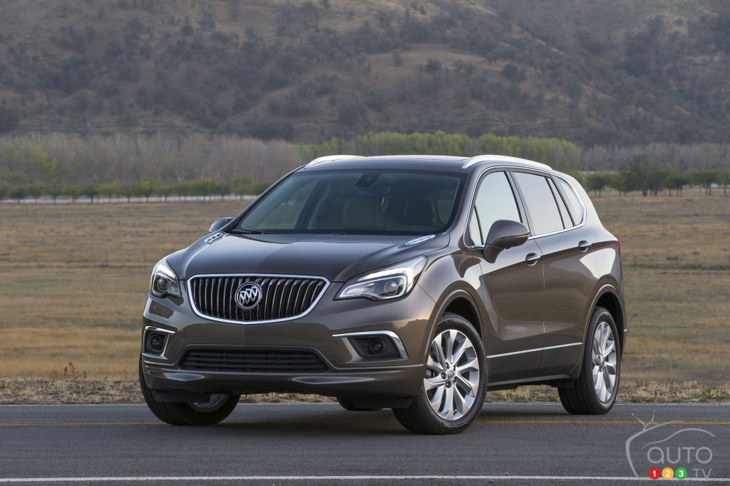 Detroit 2016: Chinese-built Buick Envision to be sold in North America