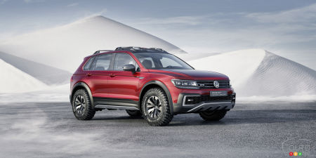 New Tiguan Concept Car Showcased in Detroit