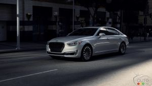 Detroit 2016: World premiere of all-new Genesis G90