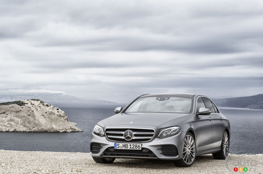 New-Generation Mercedes-Benz E-Class Announced