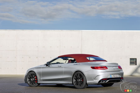 "Detroit 2016 : Mercedes-AMG S63 4MATIC Cabriolet ""Edition 130"""