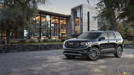 Detroit 2016: GMC Acadia is redesigned for 2017