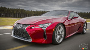 Detroit Hosts World Premiere of 2017 Lexus LC 500