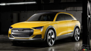 Detroit 2016 : New Audi h-tron quattro concept banks on hydrogen
