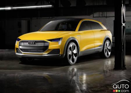 Audi Htron Quattro Concept World Premiere In Detroit Car News - Audi detroit