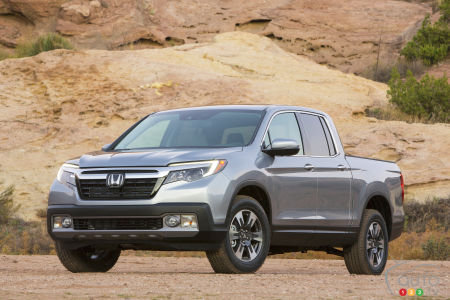 World Premiere for Honda's 2017 Ridgeline at Detroit Auto Show