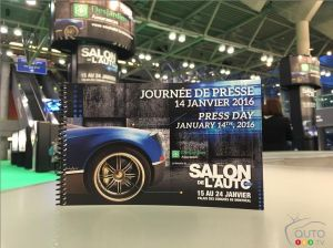 Le Salon International de l'auto de Montréal 2016 en direct