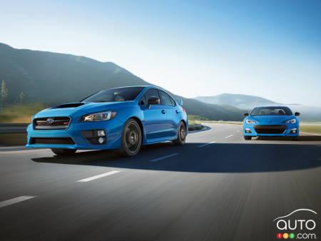 Subaru Brz Et La Wrx Sti Hikari Edition 2016