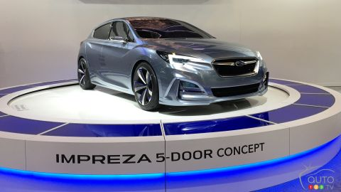 Montreal 2016: North American debut of Subaru Impreza 5-Door Concept