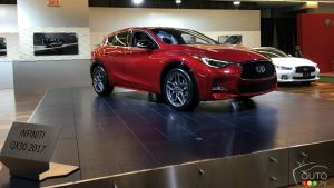 Montreal 2016: All-new 2017 Infiniti QX30 premieres in Canada