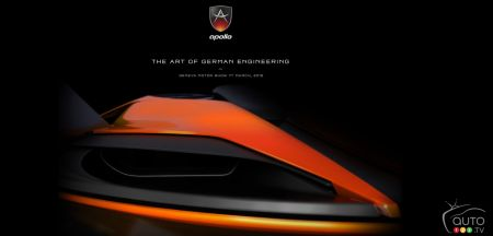 Gumpert becomes Apollo, set to debut new car in Geneva