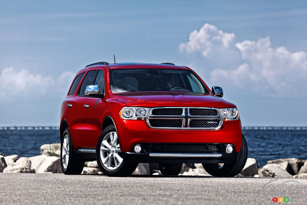 2011-2012 Dodge Durango, Jeep Grand Cherokee recalled in Canada