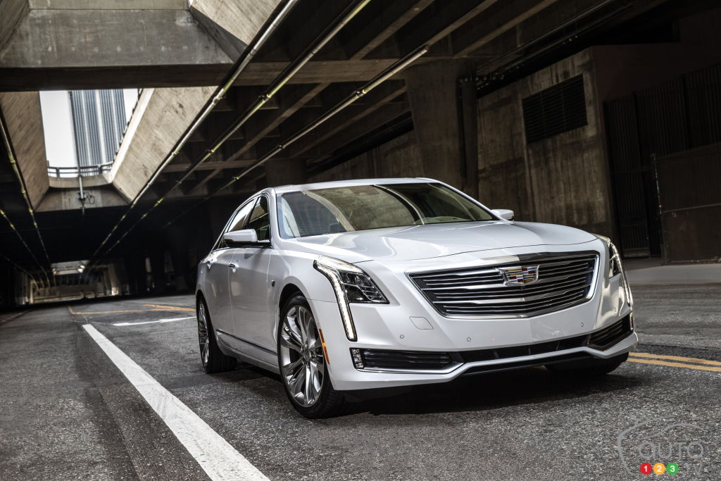 Cadillac CT6 plug-in hybrid could be imported from China