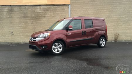 2015 Ram ProMaster City Wagon SLT Review