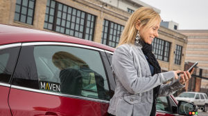 GM launches new car-sharing app called Maven