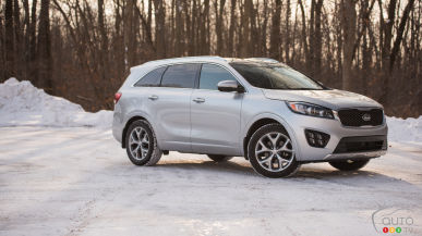 2016 Kia Sorento SX Turbo AWD Review