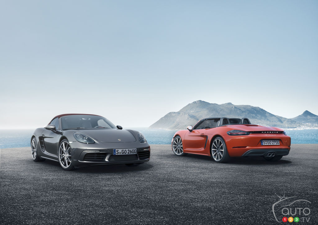 Meet the new 2017 Porsche 718 Boxster lineup