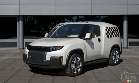 Toyota U2 urban utility concept to make global debut in Toronto