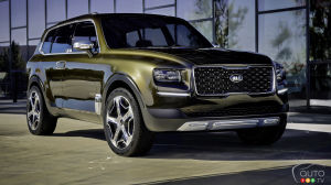 Paris 2016: Kia's Telluride Concept Headed for Commercial Production?