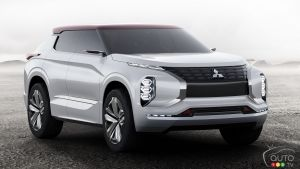 Paris 2016: World Premier for the Mitsubishi GT-PHEV Concept