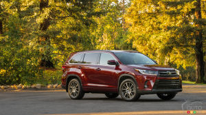 2017 Toyota Highlander's many updates to please Canadian families