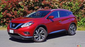 2016 Nissan Murano leads Cars.com's top 5 midsize SUV list