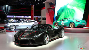 Paris 2016: Ferrari steals spotlight for its 70th anniversary (video)