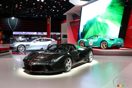 Ferrari Steals Spotlight At Paris Auto Show Car News Auto - Ferrari car show