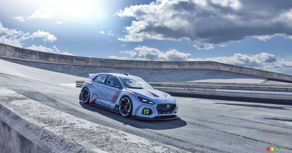Paris 2016: Hyundai RN30 concept previews first N performance model