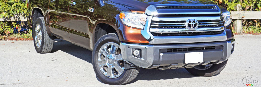 2016 Toyota Tundra 4x4 Platinum 1794 Edition Road Test Car Reviews Auto123