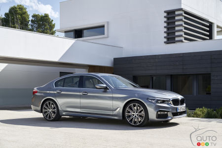 Exclusive: Here's the all-new 2017 BMW 5 Series in pictures and video