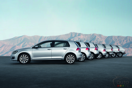 A New Look for the Volkswagen Golf as Early as November?