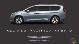 La Chrysler Pacifica hybride 2017 arrive!