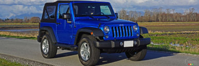 2016 Jeep Wrangler Sport S Review